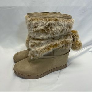 JustFab Egritte Boot in Tan 10